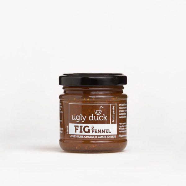 Fig Fennel Paste jar with label