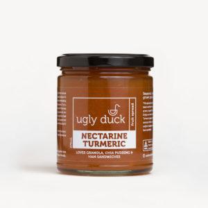 Nectarine Turmeric Spread jar with label