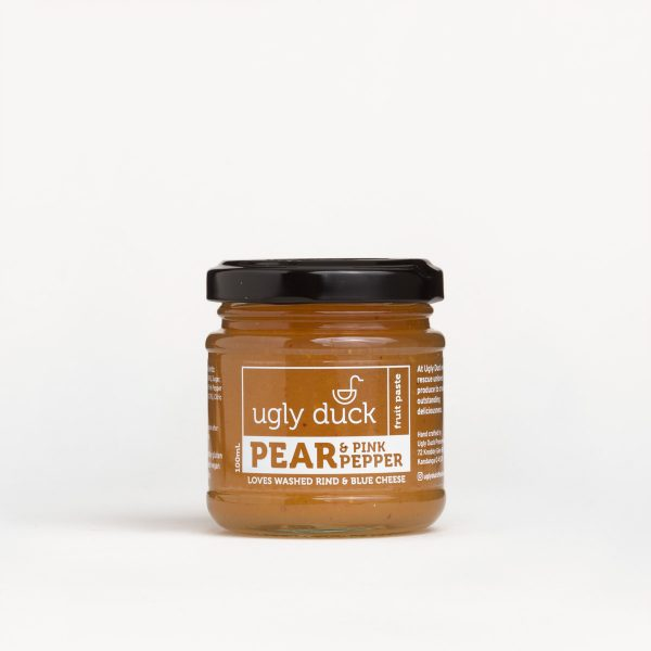 Pear Pink Pepper Paste jar with label