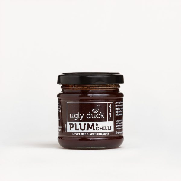 Plum Chilli Paste jar with label