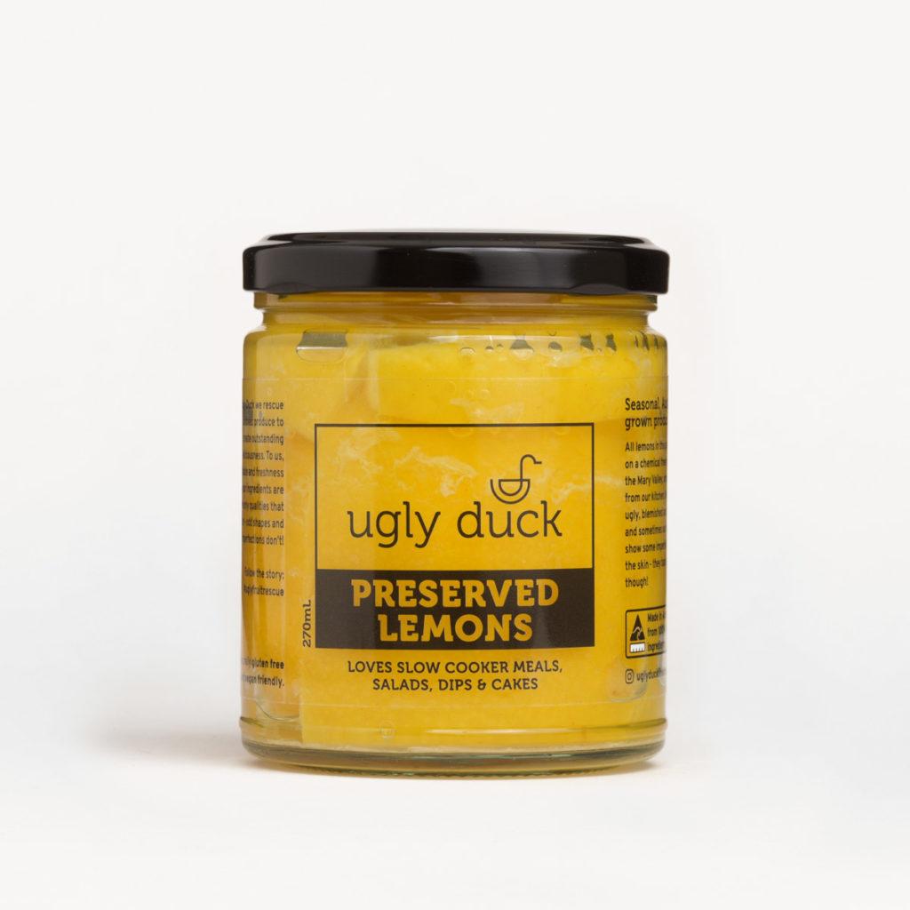 Preserved Lemons jar with label