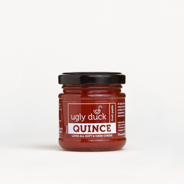 Quince Paste jar with label
