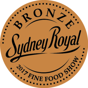 Bronze Medal, 2017 Fine Food Show