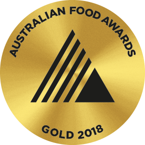 Gold Medal, 2018 Australian Food Awards